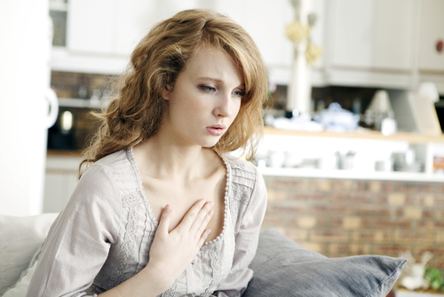 potravinové alergie dušení
