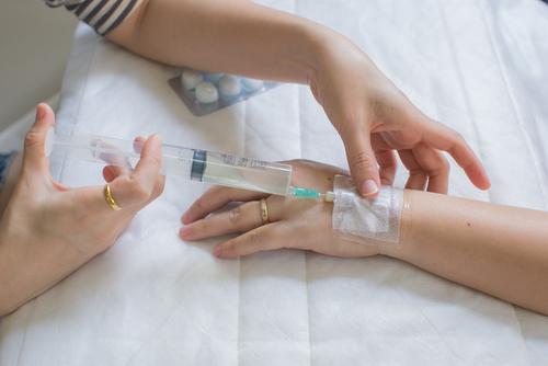 růže penicilín injekce léčba