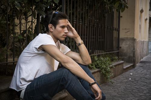 menierův syndrom v sedě