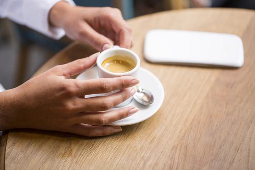 dehydratace káva